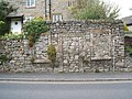 Retaining wall, Monyash Road, Bakewell - geograph.org.uk - 1475931.jpg