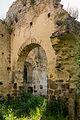 Revers de l'arc diaphragme de l'ancienne église Saint-André, Saint-André-des-Eaux, France.jpg