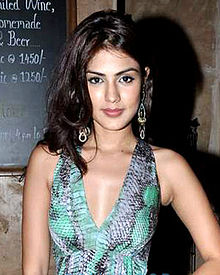 Rhea Chakraborty at the Launch of Avantika Daing's online store 'Squarekey.com'.jpg
