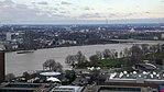 Rheinhochwasser 2018 in Köln KölnTriangel 06.jpg