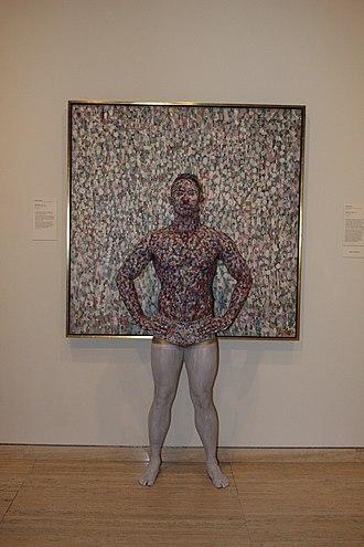 Rhys Bobridge - Rhys Bobridge as living statue