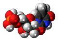 Ribothymidine monophosphate 3D spacefill.png