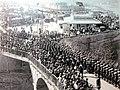 Richard Ellis, French Naval Squadron entering Kings Gate, 1912.jpg