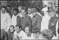 Richard M. Nixon meeting with the Washington Redskins football team. - NARA - 194738.tif