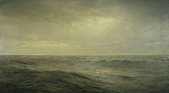 Temple Gold Medal - Image: Richards Old Ocean's Gray and Melancholy Waste 1885