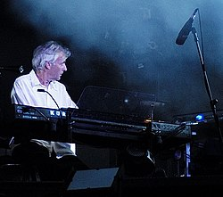 Rick Wright turnén David Gilmourral 2006-ban
