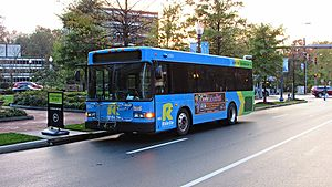 Ride On (bus) - Image: Ride On Gillig LF Diesel 29 ft