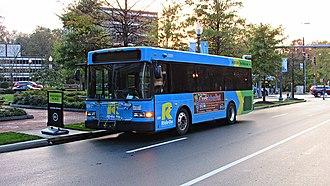 Ride On (bus) - Image: Ride On Gillig LF Diesel 29 ft