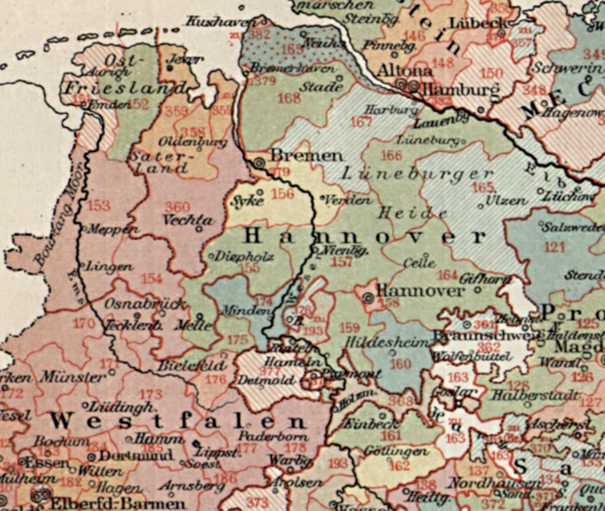 Wahlbezirke Hannover