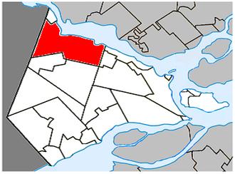 Rigaud, Quebec - Image: Rigaud Quebec location diagram