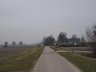 Benthorn Hamlet in South Holland, Netherlands