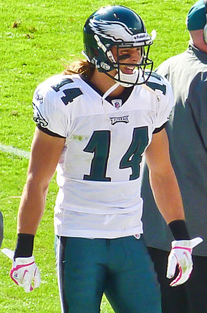 Riley Cooper #14 of the Philadelphia Eagles
