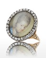 Ring med miniatyrporträtt av Lovisa Ulrika, 1770 cirka - Livrustkammaren - 98875.tif