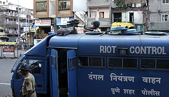 Pune Police - Riot Control Vehicle of Pune City Police