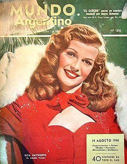 Rita Hayworth Mundo Argentino 1946