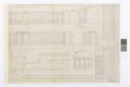 Ritning till vindskorridor - Hallwylska museet - 101061.tif