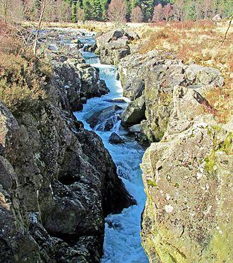 River Duddon - The Duddon at Troutal Gorge above Seathwaite