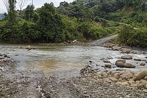 Nabawan District - Image: Rivers Of Sabah Sungai Sabenait 01