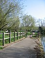 Riverside path - The Cam - geograph.org.uk - 787602.jpg