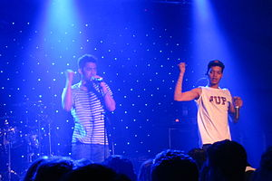 Rizzle Kicks - Rizzle Kicks in concert at Jesus College May Ball, 2012
