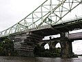 Road and rail bridges at Runcorn - geograph.org.uk - 961382.jpg