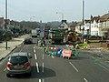 Road works on Bellegrove Road - geograph.org.uk - 2848798.jpg