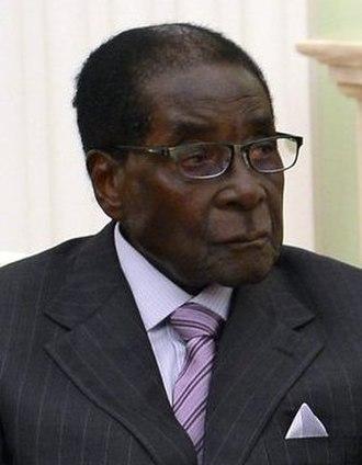 President of Zimbabwe - Image: Robert Mugabe in Moscow, May 2015