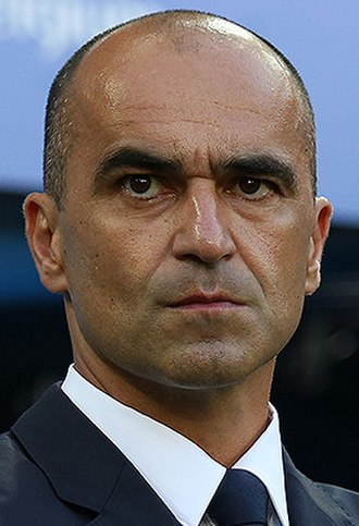 Roberto Martínez - Martínez as Belgium manager at the 2018 FIFA World Cup