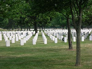 Rock Island National Cemetery - Image: Rock Island Arsenal Cemetery