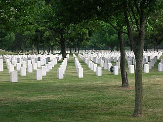 Rock Island National Cemetery - Image: Rock Island Arsenal Cemetery