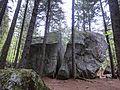 Rock climbing boulder named Sass Fendù - Foppiano di Crodo (Verbano-Cusio-Ossola) - 2017-04-24.jpg
