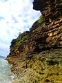Rock formation at Poro Beach,Bahao, Libmanan, Camarines Sur, Philippines.jpg