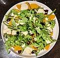 Rocket lettuce, Butternut squash, Beetroot, Green beans, whipped cream salad.jpg