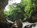 Rocky overhang over plunge pool on small gorge near Vero River, Tutuala, Lautem, Timor-Leste.jpg