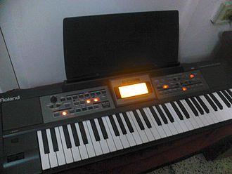 Roland Corporation - Roland E09 keyboard