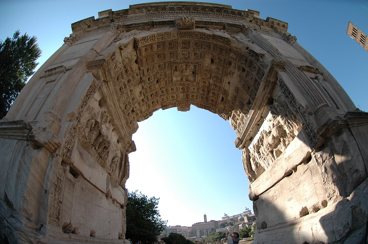 Arch of Titus - Wikimedia Commons