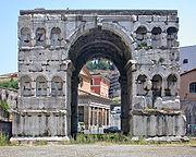 Der Janusbogen beim Forum Boarium