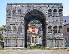 Arco di Giano o Ianus Quadrifrons.