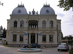 Romania Campina city hall.jpg