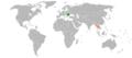 Romania Thailand Locator.png