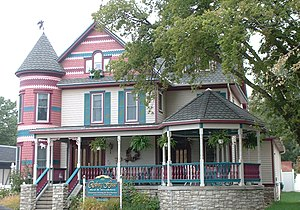 Lindsborg, Kansas - Rosberg House, bed and breakfast (2004)