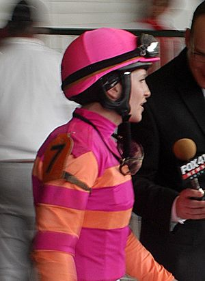 Rosie Napravnik - Napravnik at the 2011 Kentucky Derby