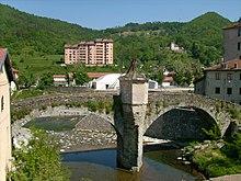 Antico ponte sul torrente Gargassa presso Rossiglione Inferiore