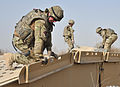 Royal Engineers Preparing Site for New Bridge Buidling in Afghanistan MOD 45153762.jpg