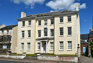 Royal George House - Image: Royal George House, Monmouth (geograph 5434264)