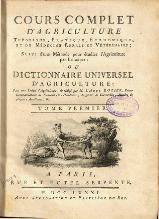 Rozier - Cours d'agriculture, 1781, tome 1.djvu