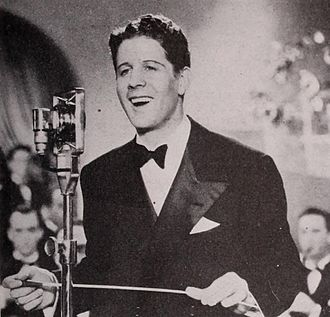 Rudy Vallée - Vallée as bandleader Skip Houston in Sweet Music