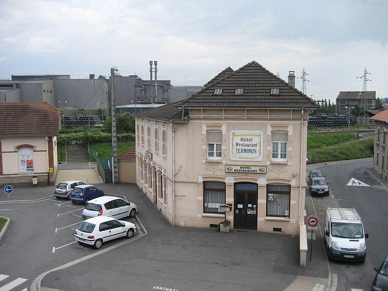 Rue Nicolas Geny, Neuves-Maisons, Meurthe-et-Moselle, France