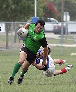 Rugbymatch i USA.