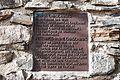 Ruina Chaschinas bzw. Fortezza Rohan, Tafel.jpg